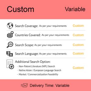 Custom Patentability Searches
