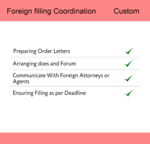 Foreign Filling Coordination