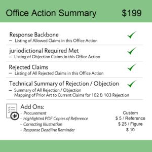 Office Action Summary