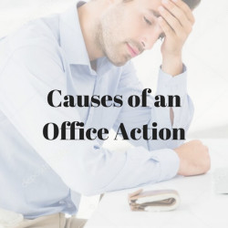 office action causes