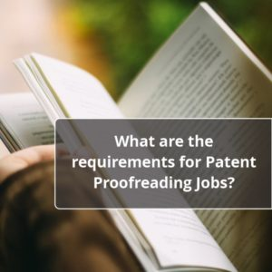 Patent Proofreading Jobs