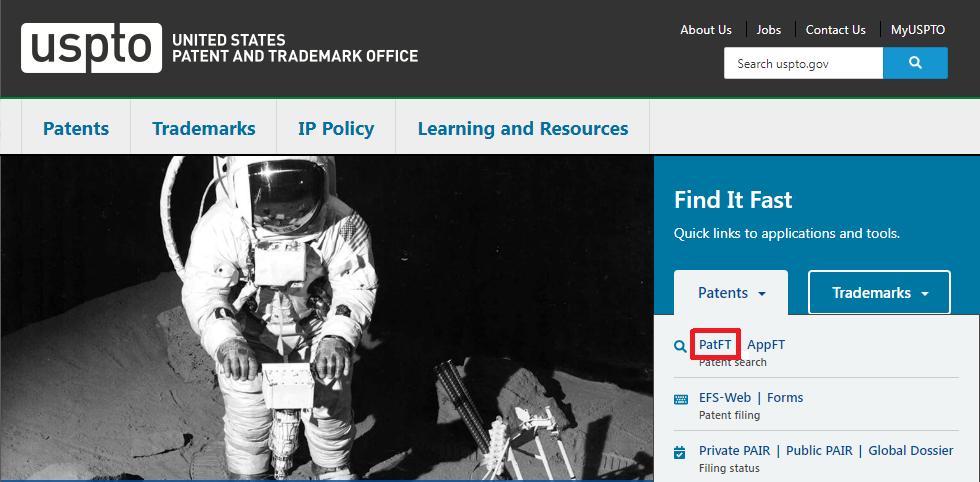 USPTO Homepage