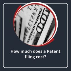 How much does a Patent filing cost