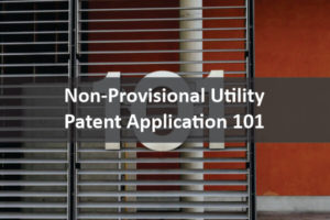 NON PROVISIONAL Utility patent application