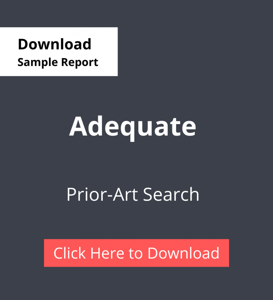 PDC Sample Report Adequate - Prior-Art Search Services
