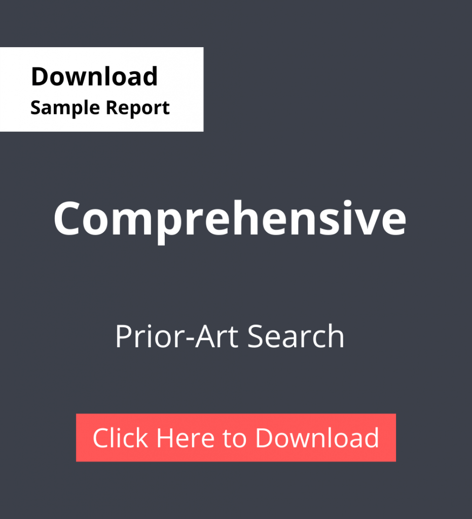 PDC Sample Report Comprehensive - Prior-Art Search Services