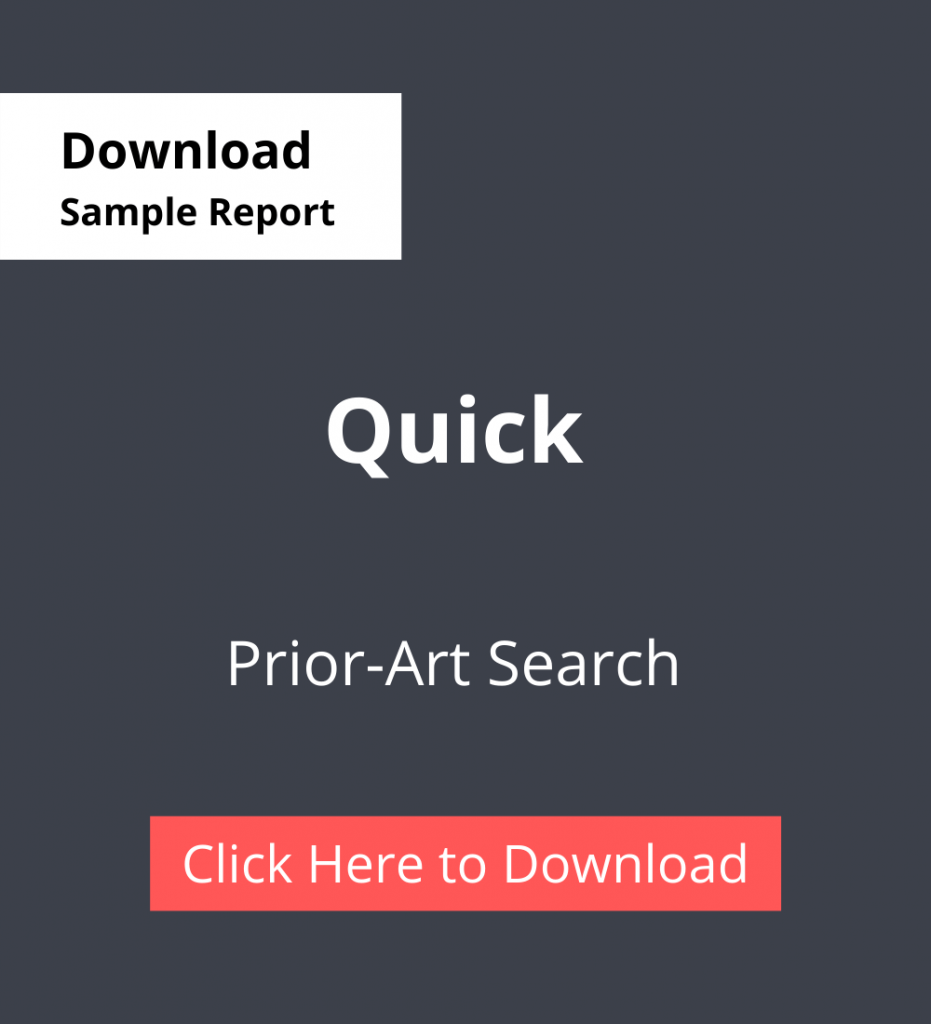 PDC Sample Report Quick - Prior-Art Search Services